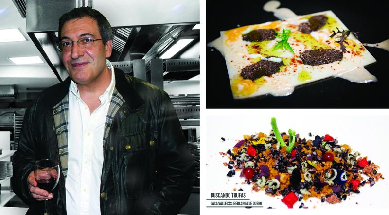 Carlos, del Restaurante Casa Vallecas de Berlanga de Duero en Soria, consejos sobre la conservación de la trufa negra