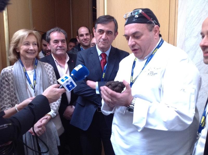 Andrea Tumbarello en Madrid Fusión 2015 - Foto de Desde Soria