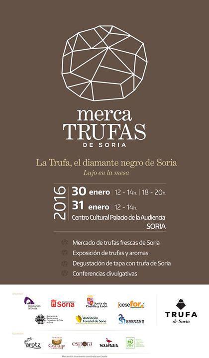 Gastronomia y trufa negra en Soria, en mercatrufas